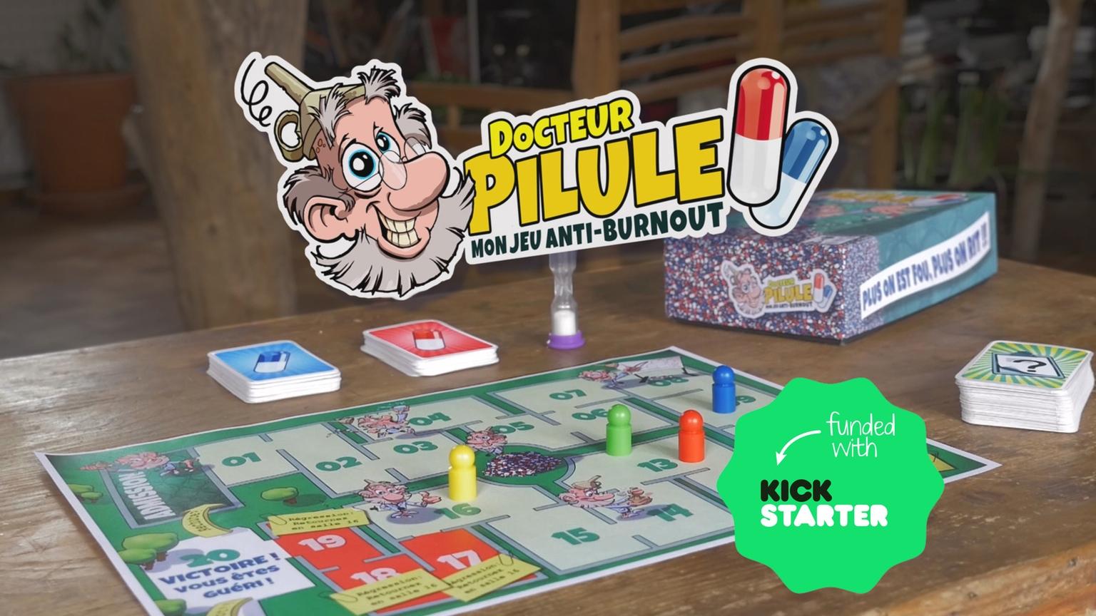 DocteurPilule_Kickstarter